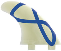 FCS M5 Glass Flex Surfboard Fin Set