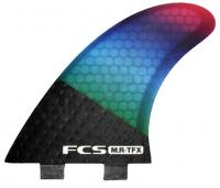 FCS MR TFX Twin Fins Surfboard Fin Set - Multi