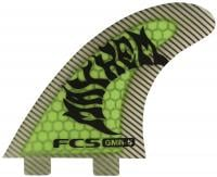 FCS GMB-5 Performance Core Tri Fin Set - Green