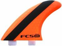 FCS ARC Performance Core Tri Fin Set - Orange