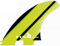 FCS II Carver Neo Glass Tri Fin Set - Green