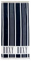 Roxy Cant Wait Beach Towel - Dress Blues Vertical Stripes