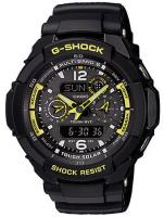 G-Shock Aviation Series Solar Atomic Combo Watch - Black