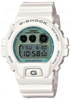 G-Shock 6900PL Watch - White / Steel Blue