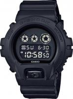 G-Shock 6900 Digital Blackout Watch - Resin Black