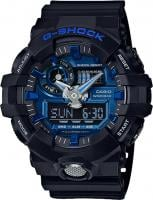 G-Shock GA710 Watch - Black / Blue
