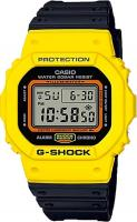 G-Shock DW5600TB Watch - Yellow / Black