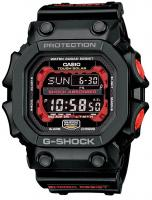 G-Shock Big Digital Solar Atomic Watch - Black / Red
