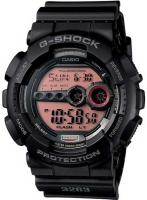 G-Shock X-Large Digital Military Watch - Black / Red