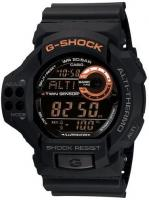 G-Shock GDF-100 Twin Sensor Digital Watch - Black / Orange