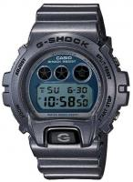 G-Shock Metallic 6900 Watch - Resin Grey / Blue
