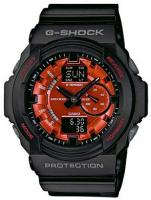 G-Shock GA-150 Watch - Black / Red