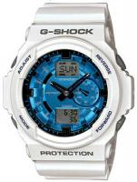 G-Shock GA-150 Watch - White / Blue