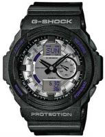 G-Shock GA-150 Watch - Metallic Black / Silver