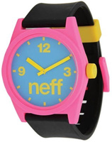 Neff Daily Watch - Cyan / Pink / Black