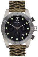 Electric DW01 Nato Watch - Black / Olive