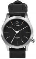 Electric FW03 Leather Watch - Black / Cream
