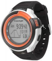 Freestyle Mariner Tide Watch - Black / Silver / Orange