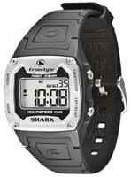 Freestyle Shark Classic PU Watch - Steel / Black
