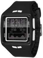 Vestal Brigg Tide and Training Watch - Black / Black / White