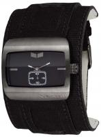Vestal Saint Watch - Black Canvas / Gunmetal / Black