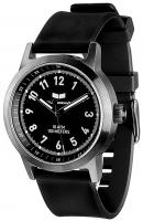 Vestal Alpha Bravo Rubber Watch - Black / Gun / Black