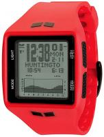 Vestal Brigg Tide and Training Watch - Red / Black / Positive
