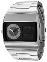 Vestal Metal Monte Carlo Watch - Silver / Silver / Black