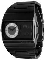 Vestal Metal Monte Carlo Watch - Black / Black / Black