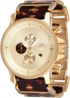 Vestal Plexi Acetate Watch - Gold / Tortoise / Gold