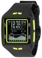Vestal Brig Tide Watch - Black / Yellow / Negative