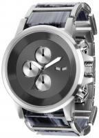Vestal Plexi Acetate Watch - Silver / Grey Gun / Brushed