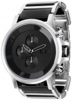Vestal Plexi Acetate Watch - Silver / Black / Minimalist