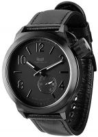 Vestal Canteen Watch - Black / Black / Brushed