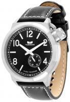 Vestal Canteen Watch - Black / Silver / Black