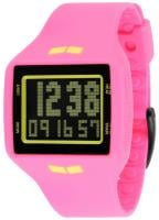 Vestal Helm Surf and Train Watch - Hot Pink / Yellow / Black