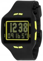 Vestal Helm Surf and Train Watch - Black / Yellow / Negative
