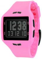 Vestal Helm Surf and Train Watch - Hot Pink / Black / Negative