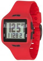 Vestal Helm Surf and Train Watch - Red / Black / Positive
