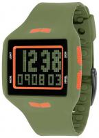 Vestal Helm Surf and Train Watch - Army / Orange