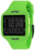 Vestal Helm Surf and Train Watch - Green / Black Negative