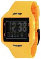 Vestal Helm Surf and Train Watch - Orange / Black Negative