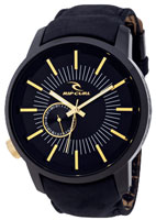 Rip Curl Detroit Leather Watch - Midnight