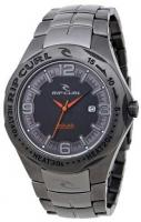 Rip Curl Solar Barrel Gunmetal SS Watch - Black