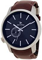 Rip Curl Detroit Leather Watch - Navy