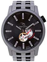 Rip Curl Detroit Automatic Mick Fanning Titanium Watch - Black