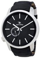 Rip Curl Detroit Leather Watch - Black