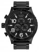 Nixon 51-30 Chrono Watch - All Black