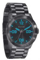 Nixon Private SS Watch - Gunmetal / Blue