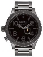 Nixon 51-30 Tide Watch - All Gunmetal / Black